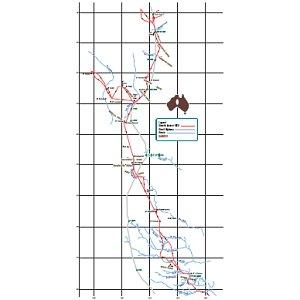 Stuart's 1860-route