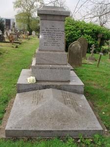 Stuart's grave