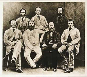 Members of Stuart's sixth expedition