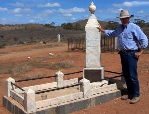 Kekwick's grave