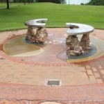 Eye of the Explorer memorial, Bicentennial Park, Darwin