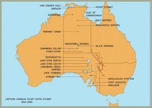 Sturt Map